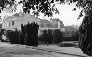Frimley, Frimley Park Flower Gardens c.1955