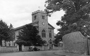 Frimley, Parish Church of St Peter c1955