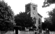 Frimley, St Peter's Church c1955