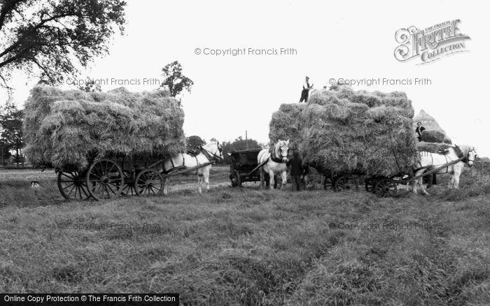 Garboldisham, Harvest Time c.1955