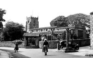 Giggleswick, St Alkelda's Church c1955