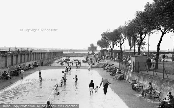 Gillingham the paddling pool francis frith - The strand swimming pool gillingham ...