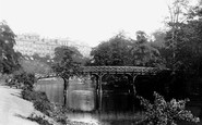 Glasgow, A View On The Kelvin 1897