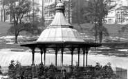 Glasgow, Bandstand 1896