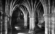 Glasgow, Cathedral, Crypt 1897