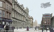 Photo of Glasgow, St Vincent Place 1897