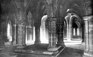 Glasgow, The Cathedral Crypt 1897