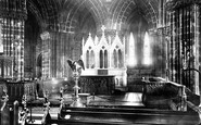 Glasgow, The Cathedral, The Choir East 1897