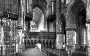 Glasgow, The Cathedral, The Choir Looking West 1897