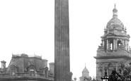 Glasgow, The Sir Walter Scott Monument 1897