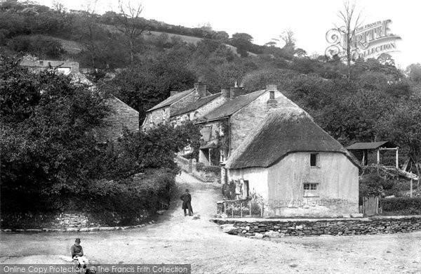 Golant, Village 1891