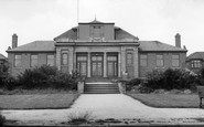 Photo of Goldthorpe, the Miners Welfare Hall c1960