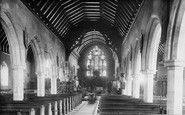 Gorleston, Church Interior 1903