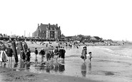 Gorleston, The Beach 1908