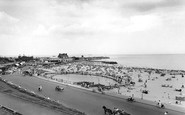 Gorleston, The Beach c.1965