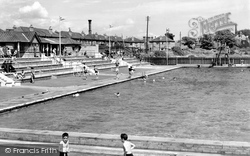 Gosport, the Bathing Pool c1960