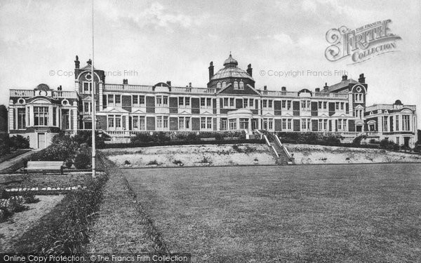Photo of Grange Over Sands, Club Union Home c.1916
