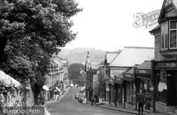 Grange-Over-Sands, Main Street c1960