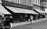 Gravesend, British Home Stores Ltd, New Road c.1955