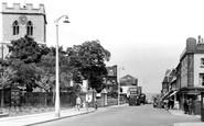 Gravesend, St James's Church, Darnley Road c.1955