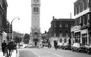 Gravesend, The Clock Tower c.1965