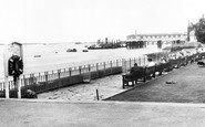 Gravesend, The River Thames From St Andrew's Gardens c.1955
