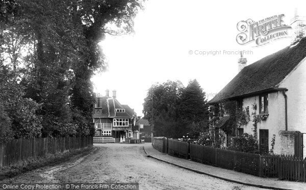 Great Bookham Dorking Road 1906 Francis Frith