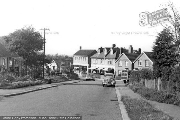 Photo of Great Bookham, Downsway c1955