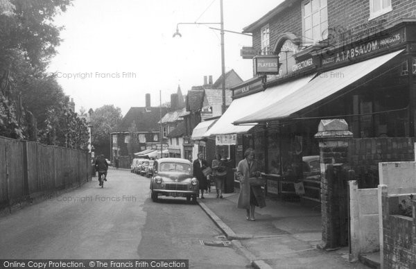 Photo of Great Bookham, High Street c1960