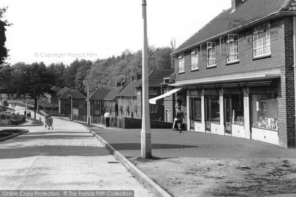 Photo of Great Bookham, Lower Shott c1955