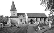 Great Bookham, St Nicholas' Parish Church c1955