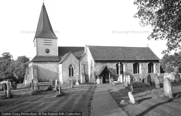 Photo of Great Bookham, St Nicholas' Parish Church c1955