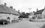 Great Wishford, the Village c1955