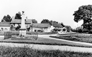 Haddenham, The Memorial c.1960