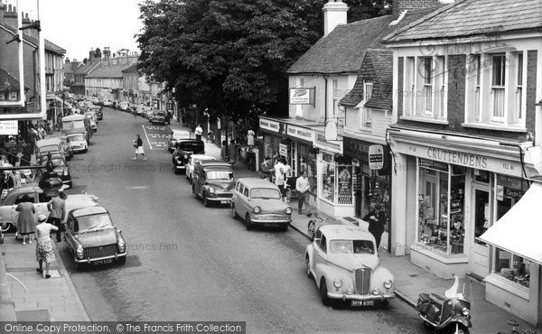 Photo of Hailsham, High Street c.1965