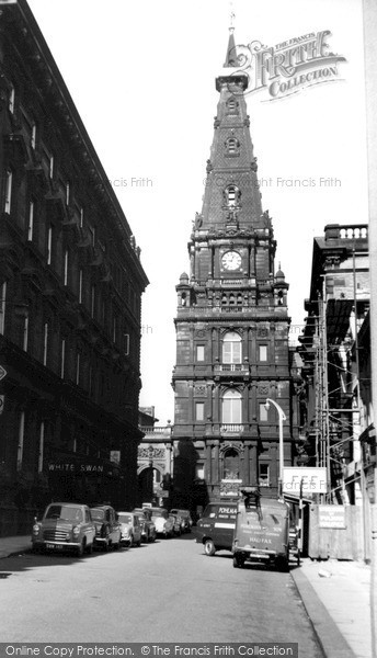 Halifax, The Town Hall c.1960