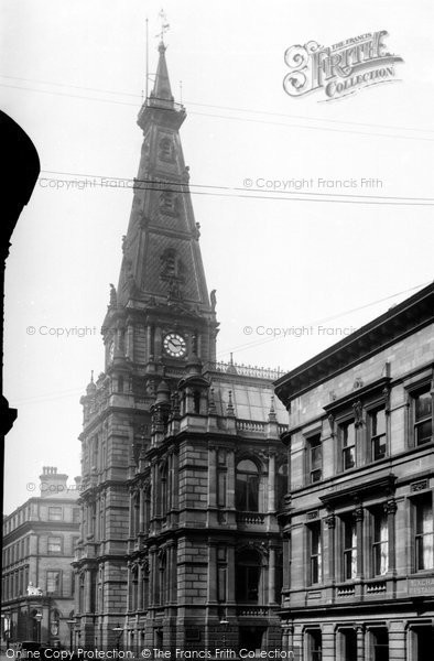 Photo of Halifax, Town Hall 1893
