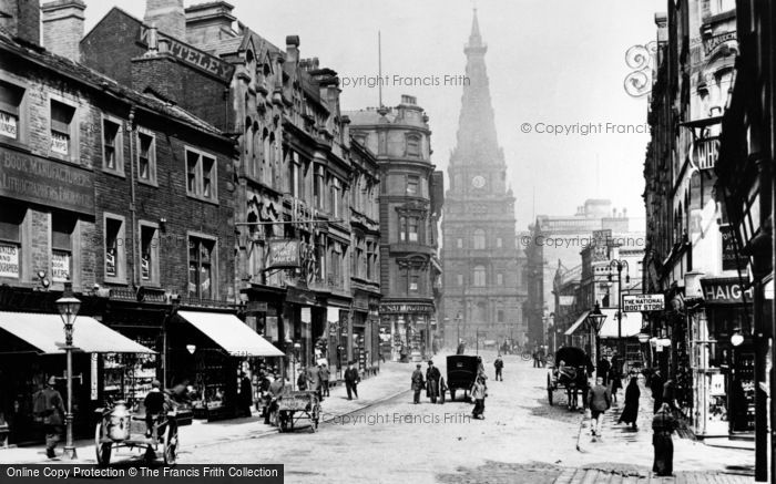 Halifax, Town Hall 1900