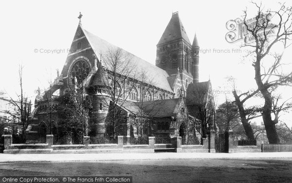 Hampstead, St Stephen's Church 1899