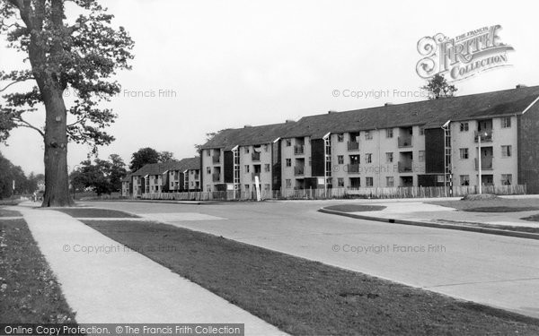 Harlow, Orchard Croft c.1955