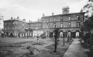 Harrogate, Adelphi Hotel Gardens 1924