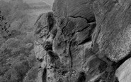 Harrogate, Birk Crag, Elephant Rock 1921