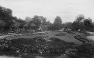 Harrogate, Bog Valley Gardens 1892