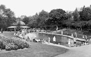 Harrogate, Childrens Pool, Valley Gardens 1925