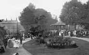 Harrogate, Crescent Gardens 1907