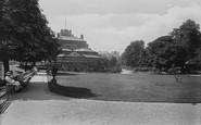 Harrogate, Kursaal, In The Gardens 1911