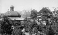 Harrogate, New Pump Room From Bog Walk 1897