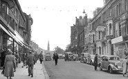 Harrogate, Parliament Street c.1955
