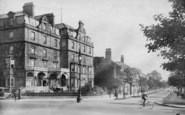 Harrogate, Prince Of Wales Hotel 1907