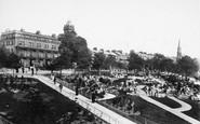 Harrogate, Prospect Hotel And New Terrace 1897